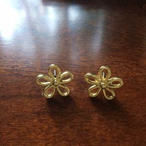 Jewelry - 3/$18 🌸 Gold flower earrings